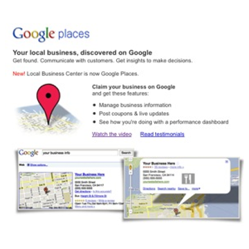 To Live and Die by Google Places