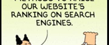"Dilbert on ""Black Hat"" SEO"